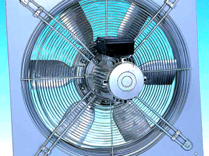 Single Phase-24 inch Flame Proof Fan
