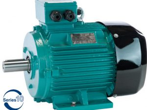 0.12kW Brook Crompton 3000 rpm Aluminium Three Phase Series-10 Electric Motor