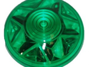 Green (S5) Cabochon E14 Light Cap