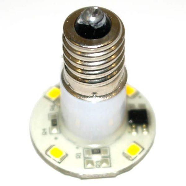 Cool White E14 60v 30mm LED Lamp