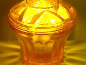 Orange (S4) Cabochon E14 Light Cap
