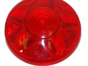 Red (S8) Cabochon E14 Light Cap