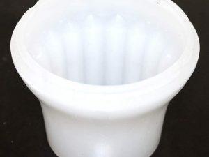 White (S2) Cabochon E14 Light Base