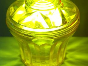 Yellow (S3) Cabochon E14 Light Base