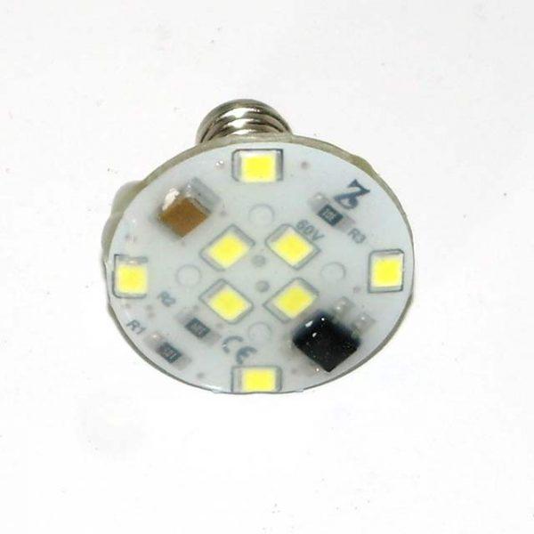 Cool White E10 60v LED Lamp