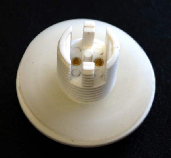 Cool White Flat Cap 24v LED Lamp