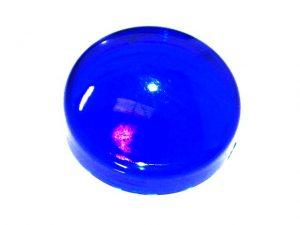 Blue Translucent Flat Light Cap