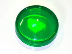 Green Translucent Flat Light Cap