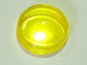 Yellow Translucent Flat Light Cap