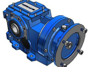 Motovario Helical Bevel B-Series 080 Gearbox