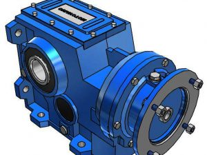 Motovario Helical Bevel B-Series 100 Gearbox