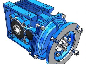 Motovario Helical Bevel B-Series A42 Gearbox