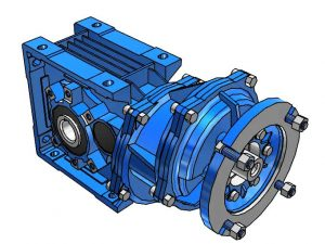 Motovario Helical Bevel B-Series A73 Gearbox