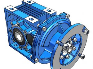 Motovario Helical Bevel B-Series A72 Gearbox