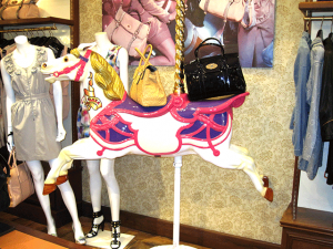 Carousel Horse with Pole & Stand Hire