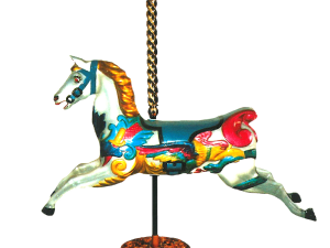 Carousel Horse with Stand – Large