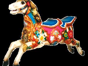 Carousel Horse – Fleurs de Joie