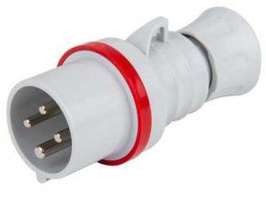 16A 3P+E 415V Trailing Plug IP44