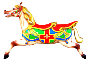 Carousel Horse Wall Display LH