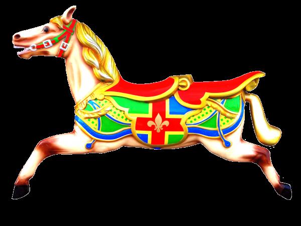 Carousel Horse Wall Display LH