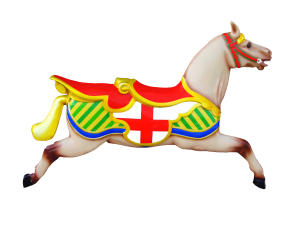 Carousel Horse Wall Display RH
