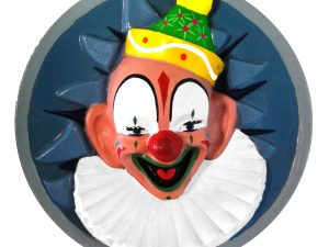 Round Clown Face