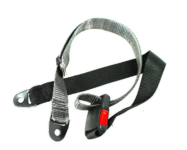 Bolt on Seat Belt with heavy duty quick release buckle