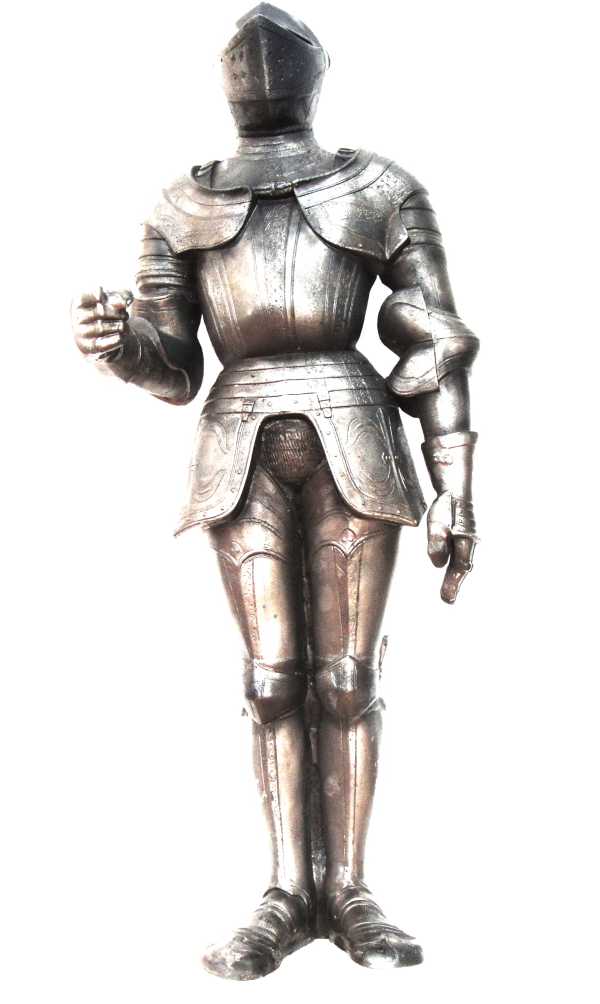 Suit of Armour display