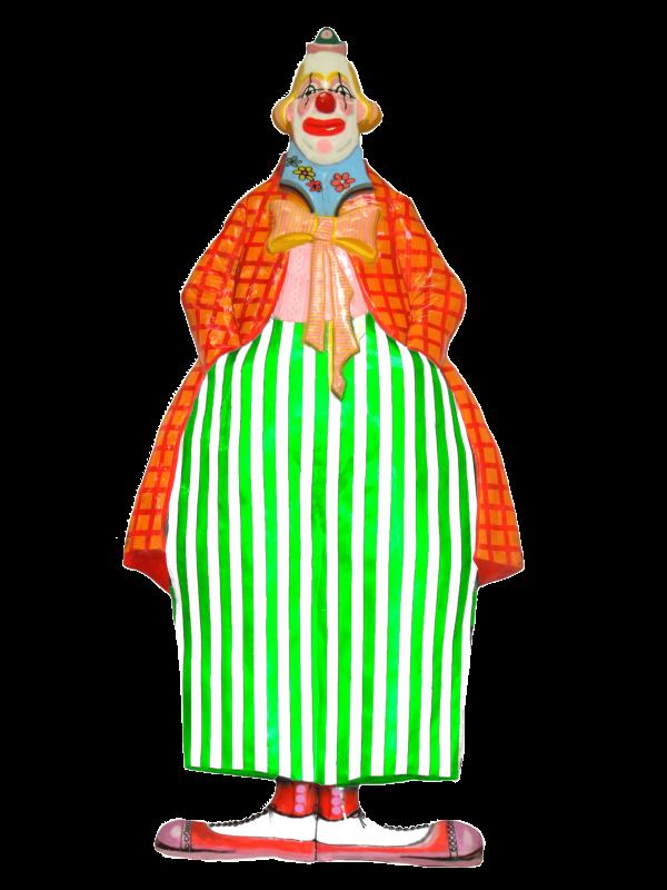 Tall Clown Display