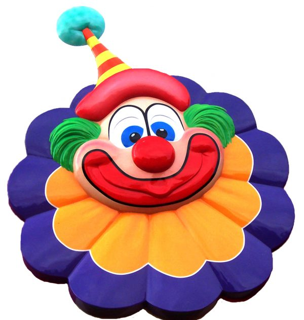Wicksteed clown display