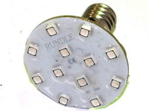Autoplay E14 24v LED Flashing Lamp