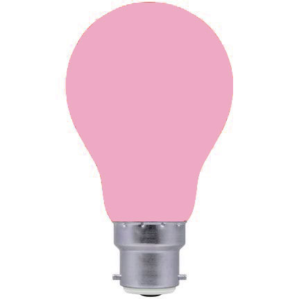 Crompton 40w 240v B22 PINK light bulb