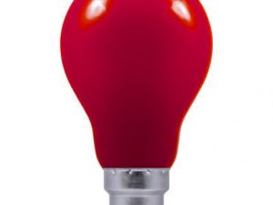 25w 240v B22 GLS RED light bulb
