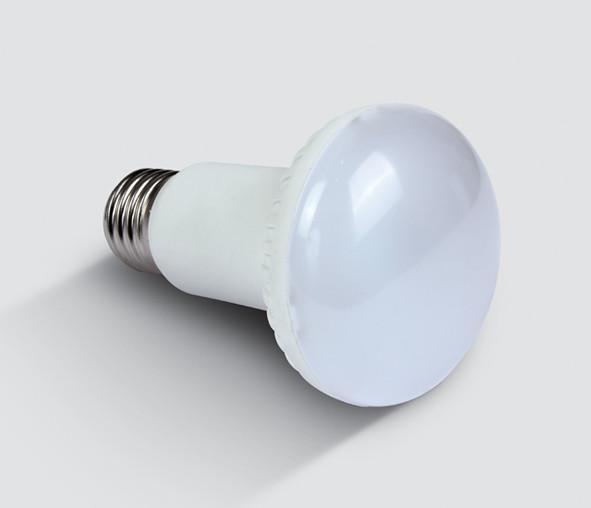 LED R63 8W E27 WW 230V 1:1 SIZE