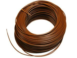 LED Connecting Tri Rated Panel Wire Brown 1.5mm