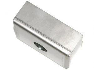 Stainless Steel End Cap for Lighting Profile