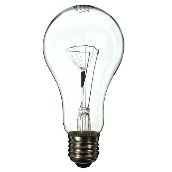 GLS Light Bulb 110V 200W E27 Clear-0