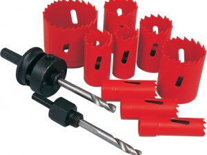 Holesaw Kit In Plastic Tube 11 Piece