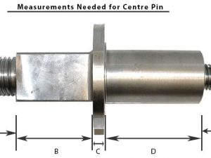 Waltzer Centre Pin Assembly