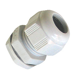 16mm White 5-10mm IP68 Nylon Cable Gland+Washer+Nut